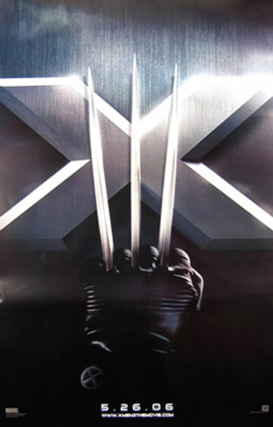 X-MEN 3 (Double Sided Advance) ORIGINAL CINEMA POSTER