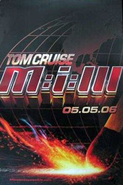 MISSION: IMPOSSIBLE III (Double-sided Advance) ORIGINAL CINEMA POSTER