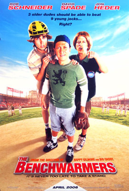 THE BENCHWARMERS (Double-sided Regular) ORIGINAL CINEMA POSTER