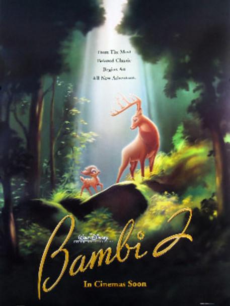 BAMBI II (Double-sided Advance) ORIGINAL CINEMA POSTER