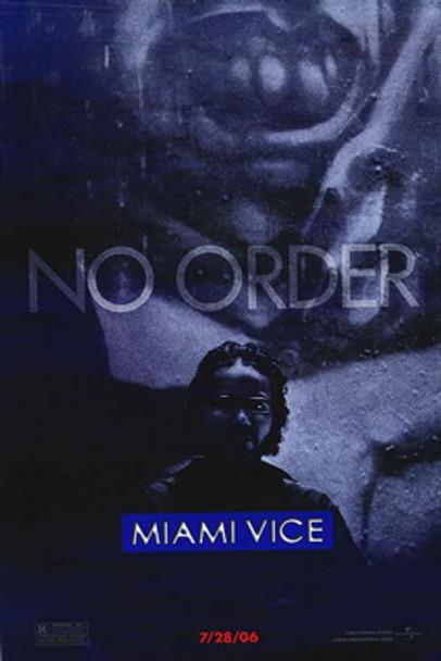 MIAMI VICE (Single Sided Advance John Ortiz) ORIGINAL CINEMA POSTER