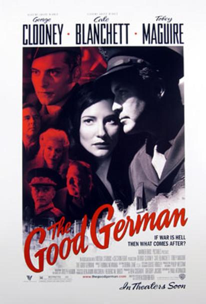 THE GOOD GERMAN (Double Sided Regular) ORIGINAL CINEMA POSTER