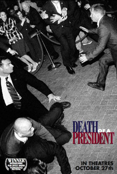 DEATH OF A PRESIDENT (Double Sided Regular) ORIGINAL CINEMA POSTER