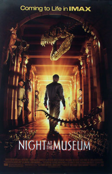 NIGHT AT THE MUSEUM (Double Sided Regular) ORIGINAL CINEMA POSTER