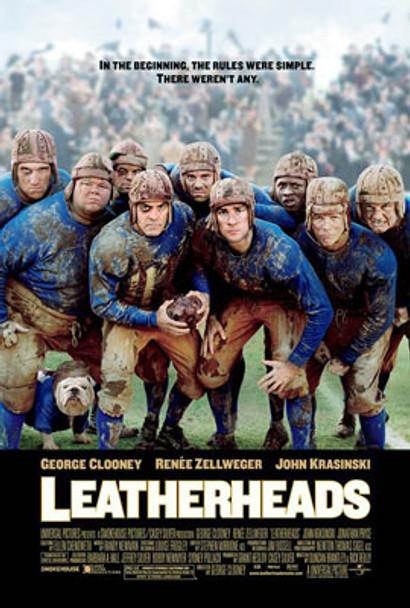 LEATHERHEADS (Double Sided Advance) ORIGINAL CINEMA POSTER