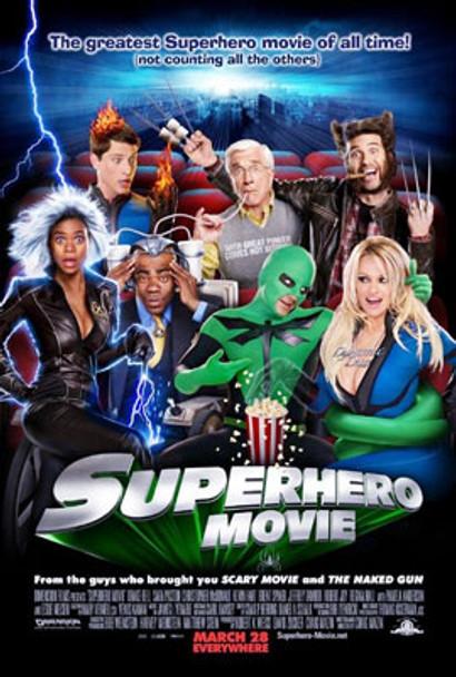 SUPERHERO MOVIE (Double Sided Regular) ORIGINAL CINEMA POSTER
