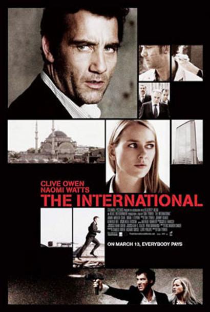 THE INTERNATIONAL ORIGINAL CINEMA POSTER