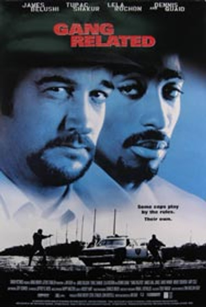 GANG RELATED (Video) ORIGINAL VIDEO/DVD AD POSTER