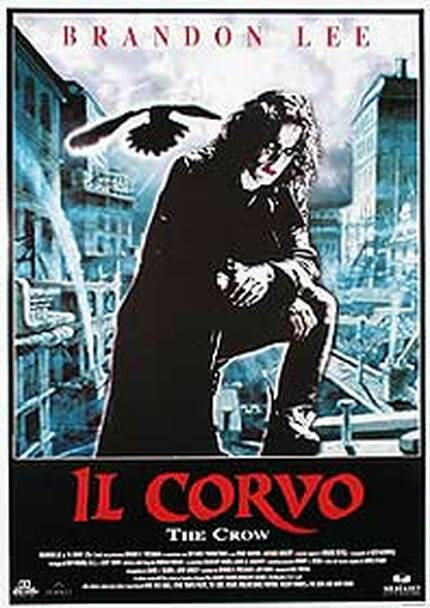 THE CROW (Italian Reprint) REPRINT POSTER