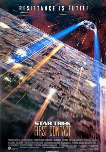 STAR TREK FIRST CONTACT (Single Sided Reprint) REPRINT POSTER