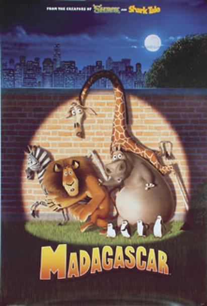 MADAGASCAR (Single Sided Advance Reprint) REPRINT POSTER