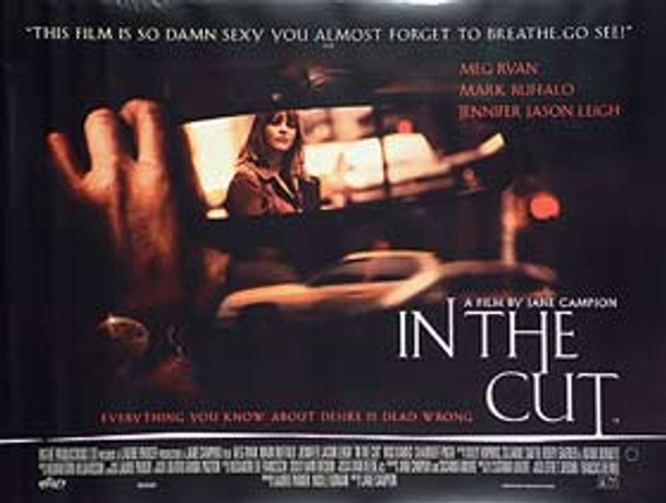 IN THE CUT ORIGINAL CINEMA POSTER