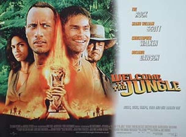 THE RUNDOWN (WELCOME TO THE JUNGLE) (DOUBLE SIDED) ORIGINAL CINEMA POSTER