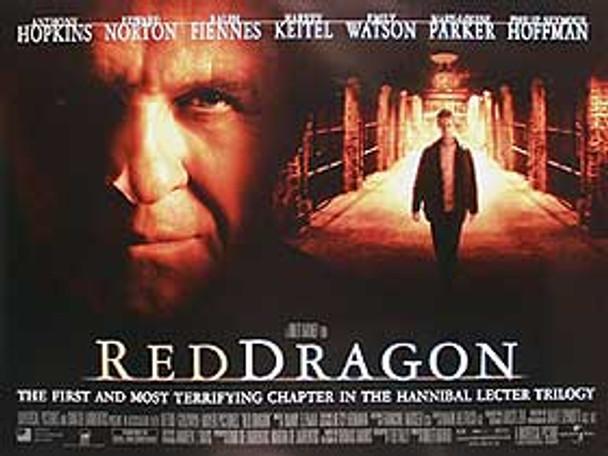 RED DRAGON (Regular) (Single Sided) ORIGINAL CINEMA POSTER