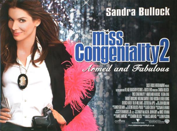 MISS CONGENIALITY 2 ORIGINAL CINEMA POSTER
