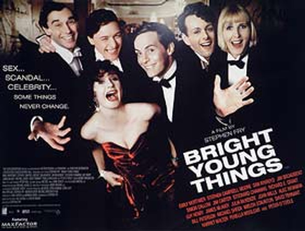 BRIGHT YOUNG THINGS (DOUBLE SIDED) ORIGINAL CINEMA POSTER