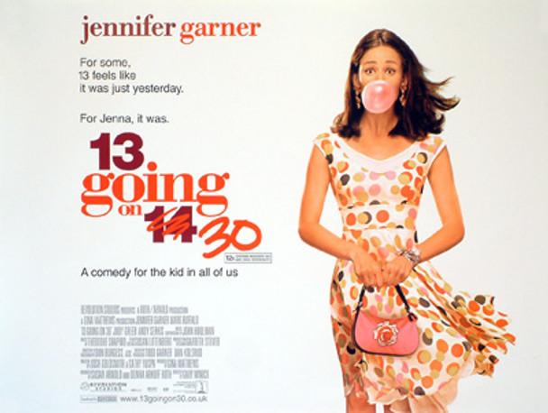 13 GOING ON 30 ORIGINAL CINEMA POSTER