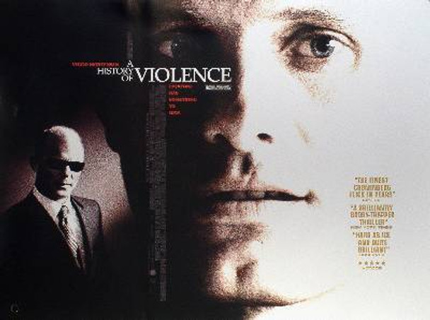 A HISTORY OF VIOLENCE ORIGINAL CINEMA POSTER