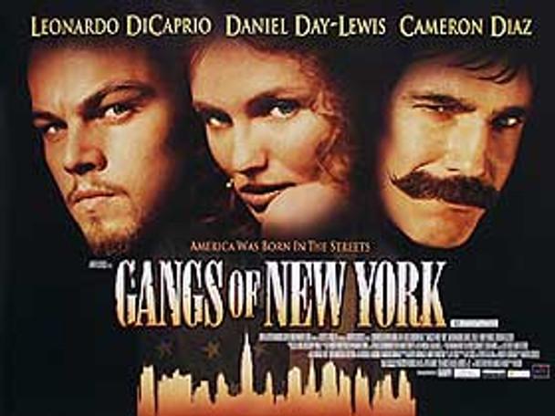 GANGS OF NEW YORK (SINGLE SIDED) ORIGINAL CINEMA POSTER