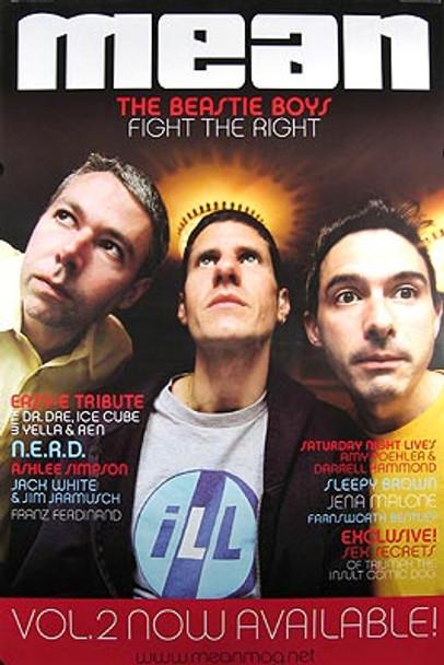 THE BEASTIE BOYS (Mean Magazine Cover) ORIGINAL MUSIC POSTER