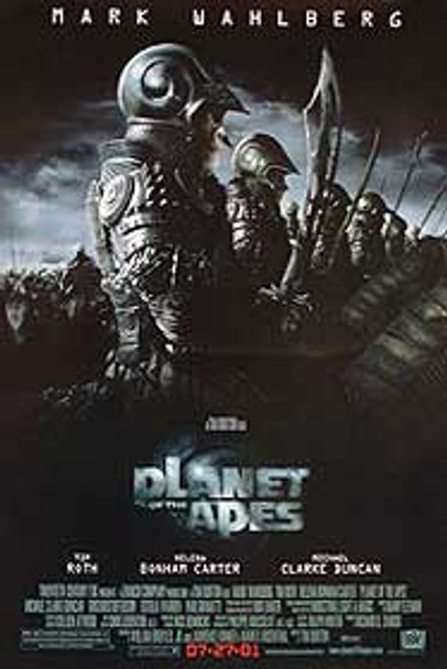 PLANET OF THE APES (2001) ORIGINAL CINEMA POSTER