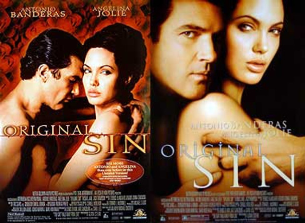 ORIGINAL SIN (Double sided Regular) ORIGINAL CINEMA POSTER