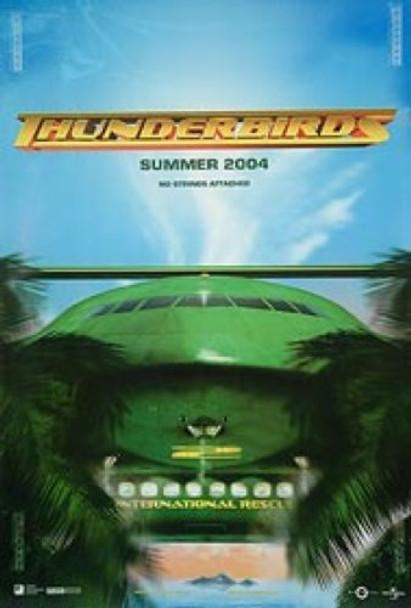 THUNDERBIRDS (Advance) (DOUBLE SIDED) ORIGINAL CINEMA POSTER