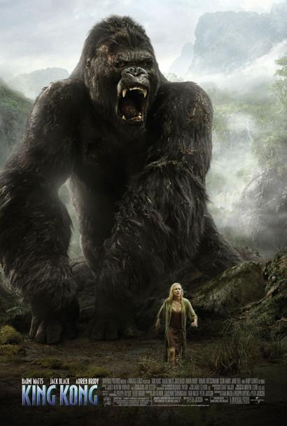 King Kong (Double-Sided Roar) Original Cinema Poster