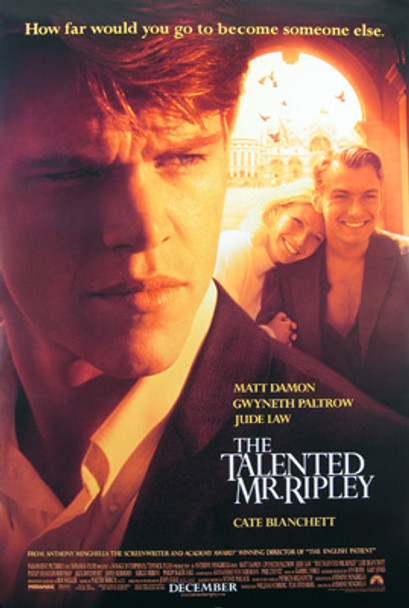THE TALENTED MR. RIPLEY (Double Sided Regular) ORIGINAL CINEMA POSTER