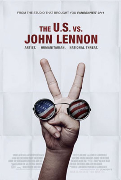 THE U.S. VS. JOHN LENNON (Double Sided Regular) ORIGINAL CINEMA POSTER