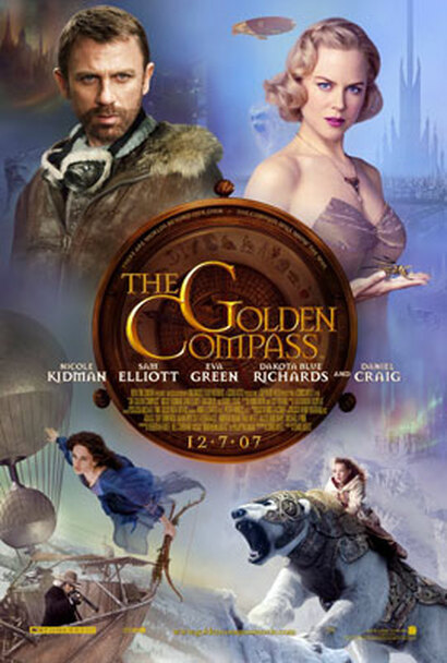 THE GOLDEN COMPASS (Double Sided Regular) ORIGINAL CINEMA POSTER
