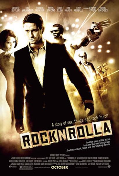 ROCKNROLLA ORIGINAL CINEMA POSTER
