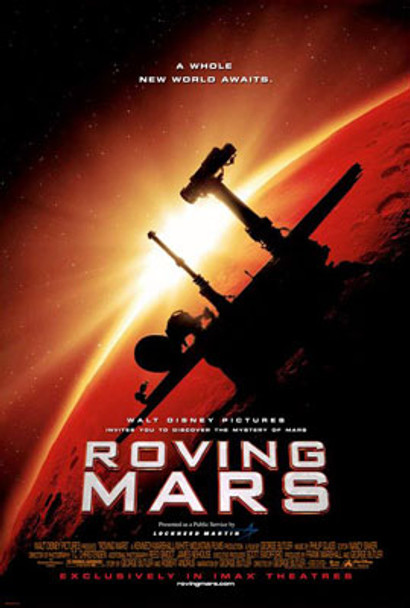 ROVING MARS (IMAX) (DOUBLE SIDED) (UV COATED/HIGH GLOSS) ORIGINAL CINEMA POSTER