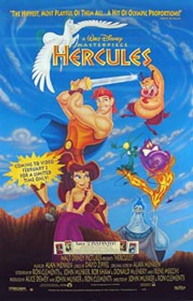 HERCULES (Video) (Single Sided) ORIGINAL VIDEO/DVD AD POSTER