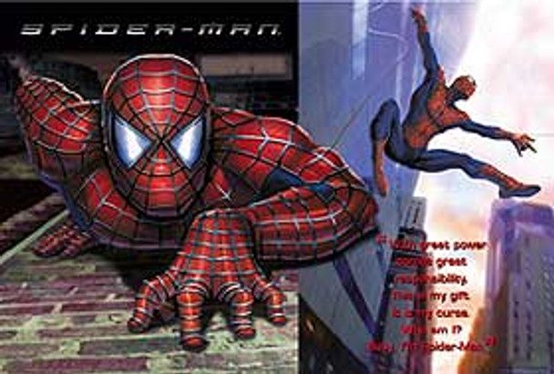 SPIDERMAN (Who Am I? Reprint) REPRINT POSTER