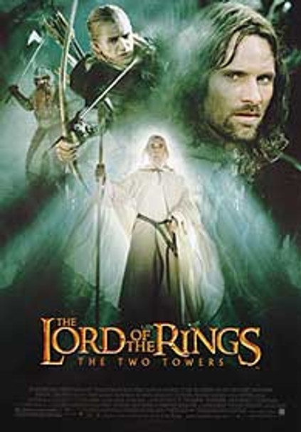 THE LORD OF THE RINGS: THE TWO TOWERS (Gandalf Reprint) REPRINT POSTER