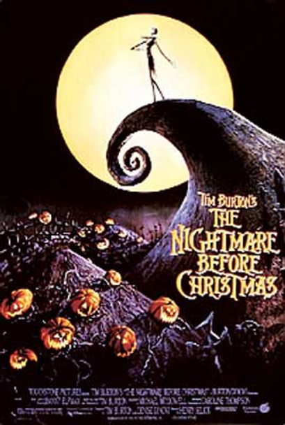 THE NIGHTMARE BEFORE CHRISTMAS (Single Sided Reprint) REPRINT POSTER