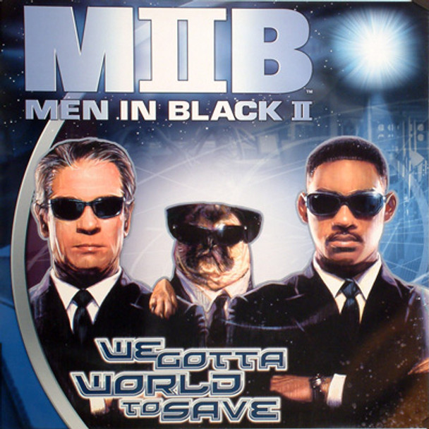 MEN IN BLACK II ORIGINAL CINEMA POSTER