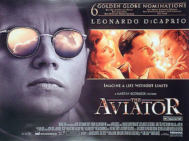 THE AVIATOR (DOUBLE SIDED) ORIGINAL CINEMA POSTER