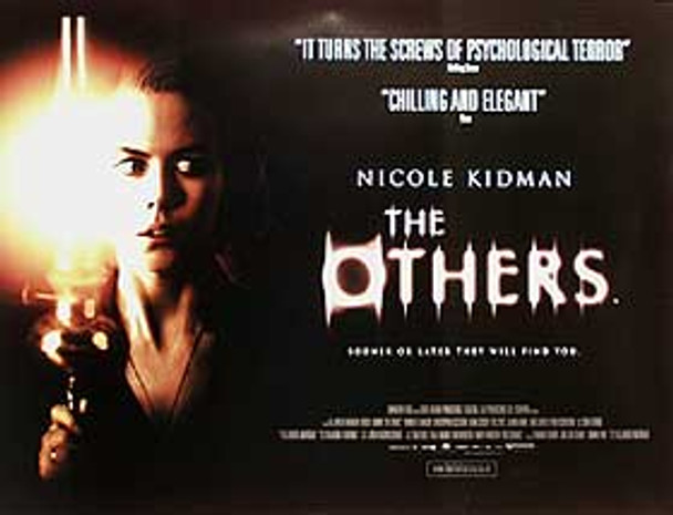 THE OTHERS (DOUBLE SIDED) ORIGINAL CINEMA POSTER