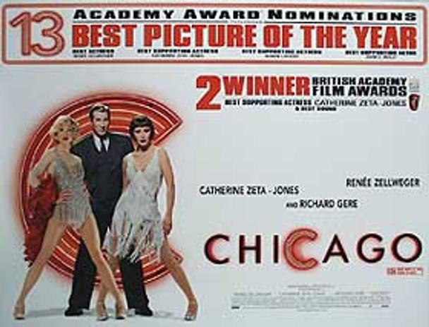 CHICAGO (Quotations) ORIGINAL CINEMA POSTER