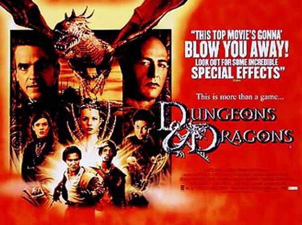 DUNGEONS & DRAGONS ORIGINAL CINEMA POSTER