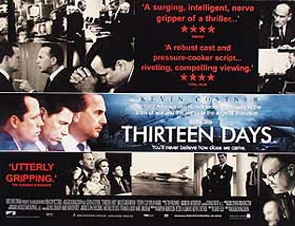 THIRTEEN DAYS ORIGINAL CINEMA POSTER