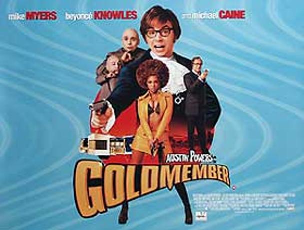 GOLDMEMBER ORIGINAL CINEMA POSTER