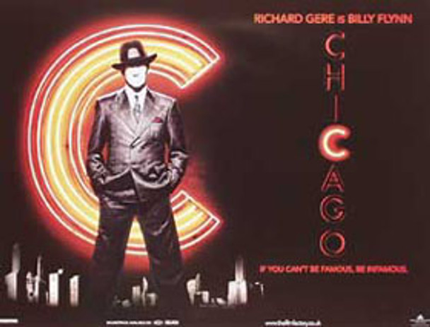 CHICAGO ORIGINAL CINEMA POSTER