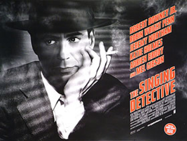 THE SINGING DETECTIVE (DOUBLE SIDED) ORIGINAL CINEMA POSTER