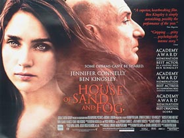 HOUSE OF SAND AND FOG (DOUBLE SIDED) ORIGINAL CINEMA POSTER