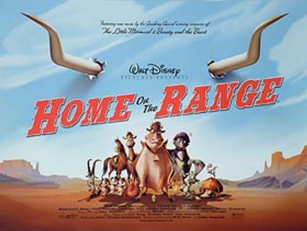 HOME ON THE RANGE ORIGINAL CINEMA POSTER