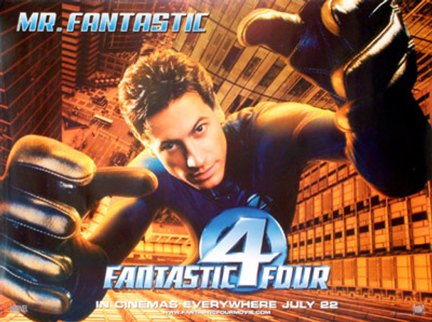 FANTASTIC FOUR (Mr Fantastic) (Double Sided) ORIGINAL CINEMA POSTER