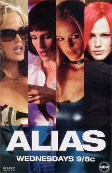 ALIAS (Rare Wild Posting Promo) ORIGINAL TV POSTER